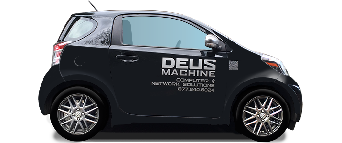 Deus Machine scion iQ