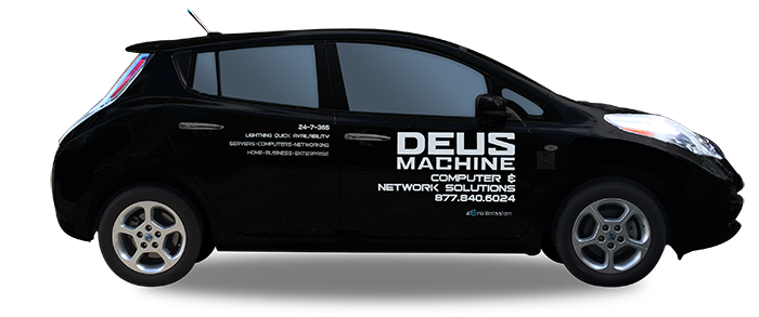 Deus Machine Nissan leaf